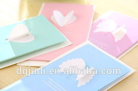 customized wedding invitation, thank you greeting card wholesale