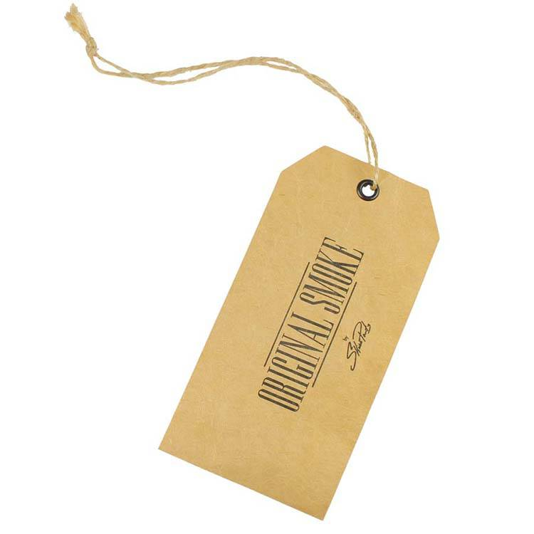 Personalized logo paper hang tag for garment