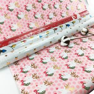 Reliable Supplier Flower Christmas Gift Wrapping Paper With Company Logo