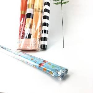 New pattern floral Color Tissue Paper with high quality custom wrapping paper