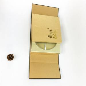 Short Lead Time for Luxury Black Gift Paper Packaging Box Shenzhen
