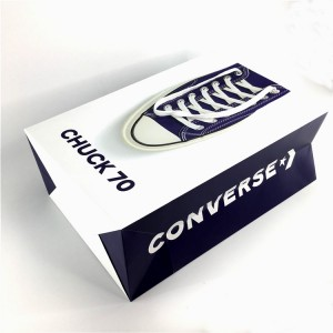 2019 new design Converse shoe paper Bag For retail