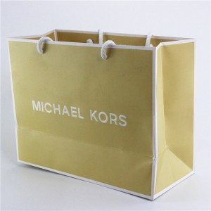 OEM China Gift Customized Brand Tote Paper Bag