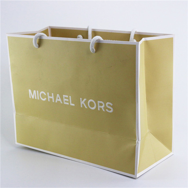 Exclusive Custom Made Michael Kors Paper Bags with Rope Handles Featured Image
