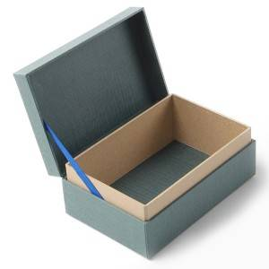 Wholesale Paper box custom design paperboard box with lid