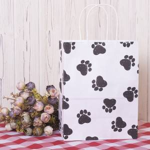 Custom Design Shopping Paper Bag for Gift,Merchandise,Retail