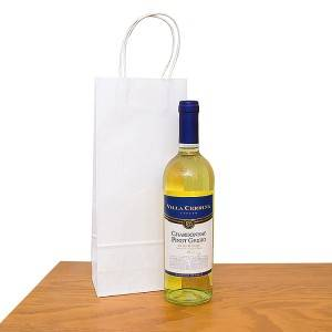 Custom order printed wine bottle packing Paper Bag