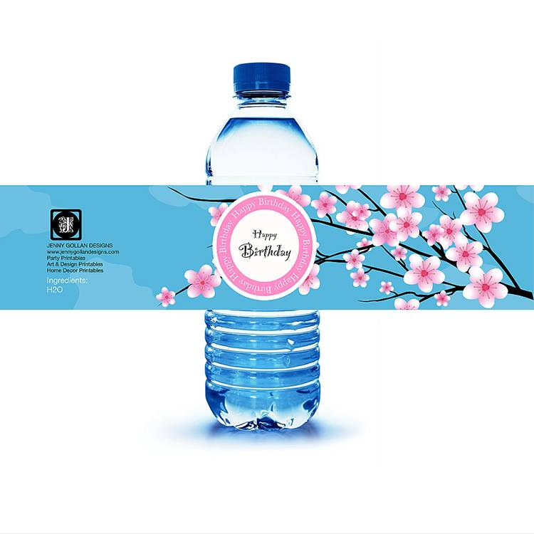 Colour Coating Adhesive Paper Bottled Beverage Usage Label Sticker Featured Image