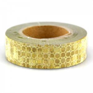 Golden gillter paper adhesive tape /washi tape