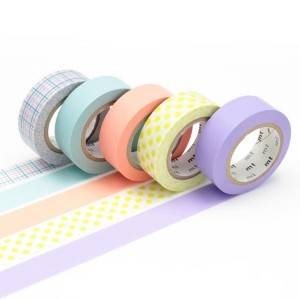 adhesive creped paper tape coated on one side with rubber-based adhesive