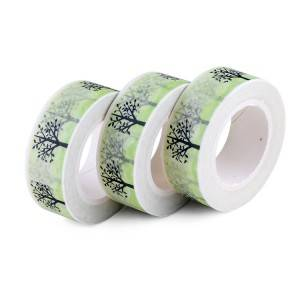 Colored Metallic Washi Tape – 15-40mm Wide