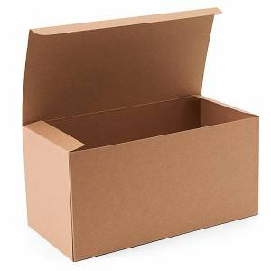 Custom printing kraft paper packing box
