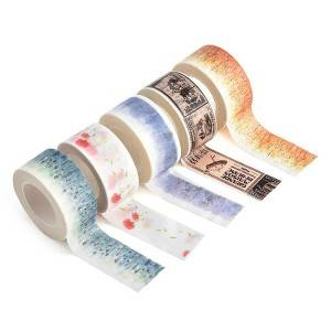 Fancy Designed Washi Tape for Walls, Arts, Crafts, Scrapbook