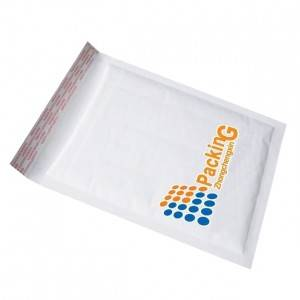 White kraft Bubble bag