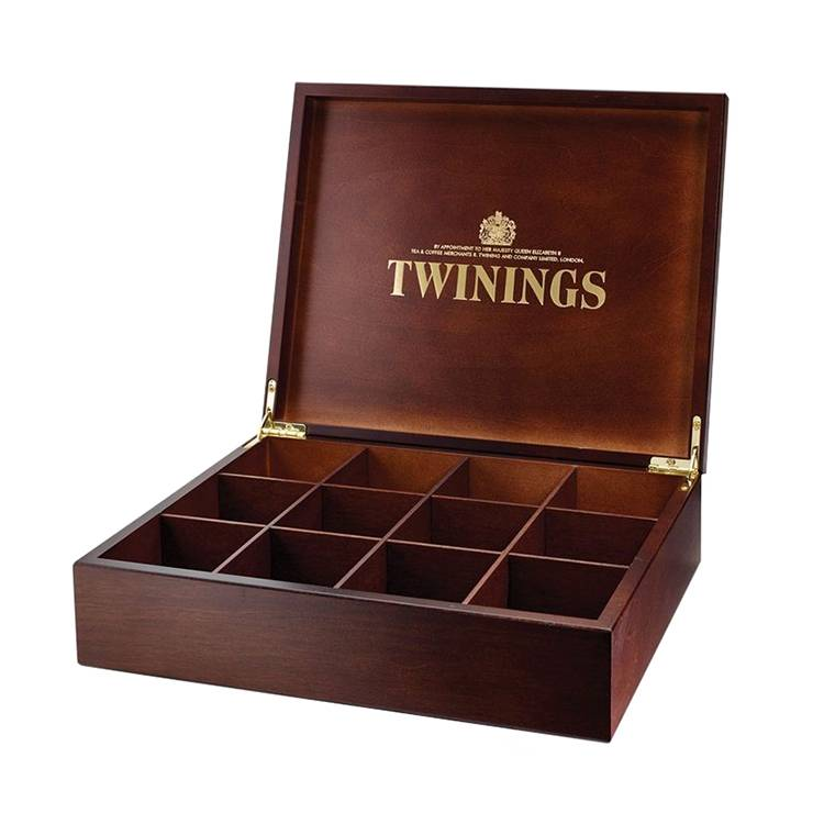 Custom logo wood packing box for tea Featured Image