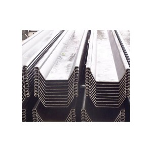 High Performance House Pre Galvanized Steel Pipe - Sheet Piling – Jukun