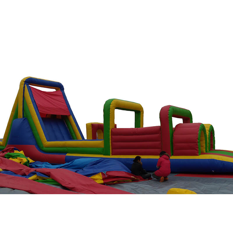 8 Year Exporter Kids Adult Inflatable Obstacle Course - Inflatable Obstacle – Jump Amusment