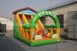 Farm theme inflatable slide JP-S02