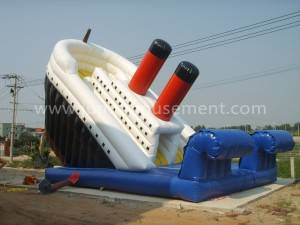 Inflatable Titanic Sliding JP-S06