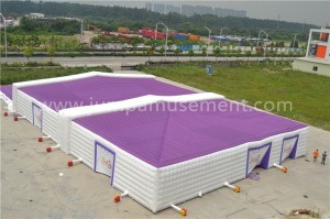 inflatable cube tent for outdoor JP-IT07