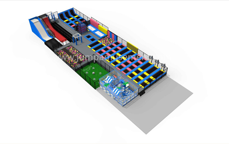 Leading Manufacturer for Children Indoor Trampoline Park - JP-TP48 – Jump Amusment Featured Image