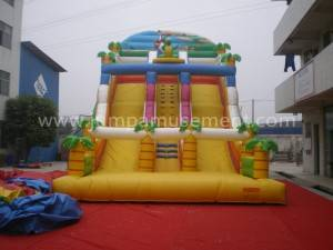 Inflatable Dinasour Jungle Slide JP-S08