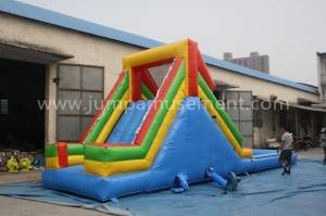 advanced inflatable water game,giant inflatable water slide for adult  JP-WS08