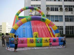 Giant inflatable slide for kids JP-S09