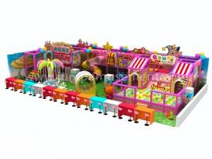 kids indoor playground with trampoline equipment JP-IP10