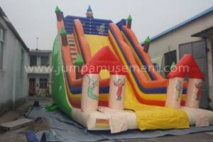 Inflatable clown slide JP-S11