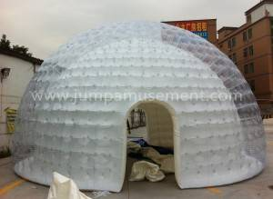 waterproof camping tent clear inflatable bubble tent JP-IT11