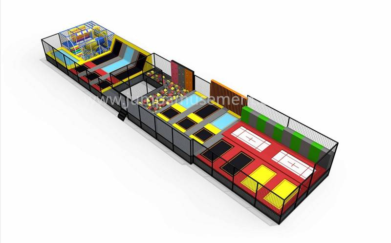 100% Original Factory Colorful Indoor Trampoline Park - JP-TP38 – Jump Amusment detail pictures