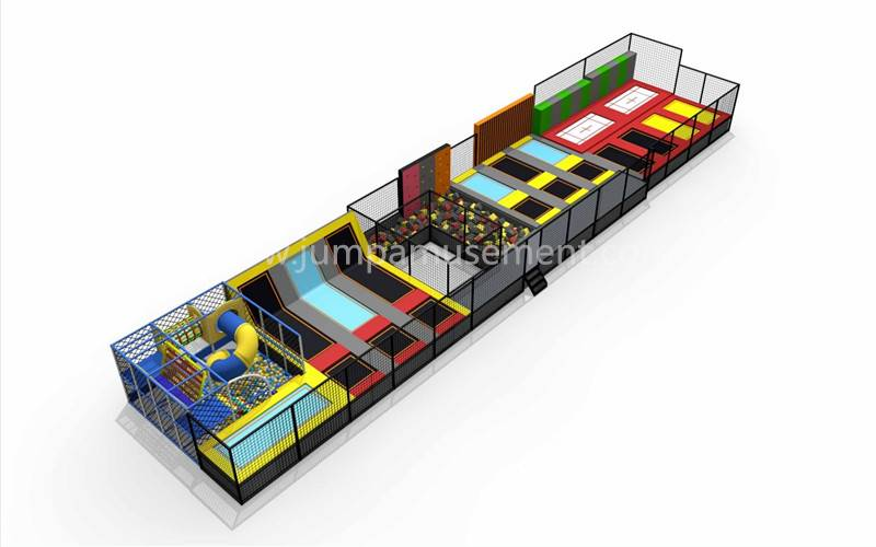 100% Original Factory Colorful Indoor Trampoline Park - JP-TP38 – Jump Amusment