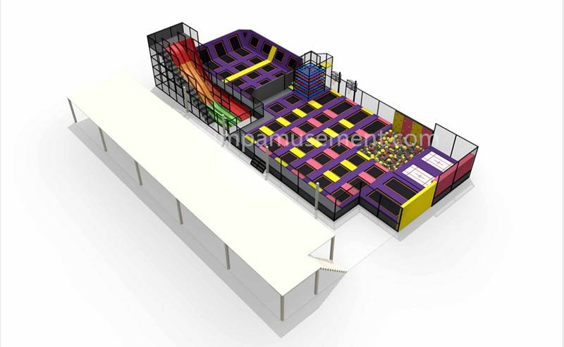 factory customized Trampoline Bed Parks - JP-TP41 – Jump Amusment