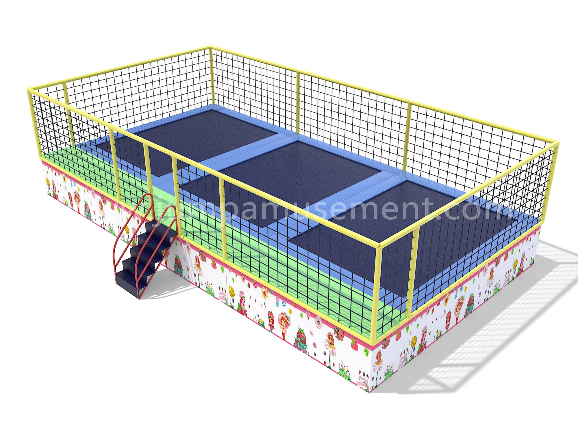 Factory Cheap Hot Trampoline Park Small - JP-BJ14 – Jump Amusment Featured Image