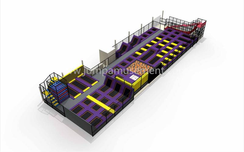 Factory Cheap Hot Trampoline Park With Dodge Ball - JP-TP35 – Jump Amusment
