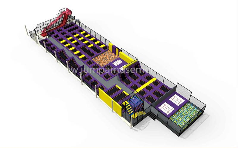 Factory directly Large Outdoor Trampoline Park - JP-TP35 – Jump Amusment