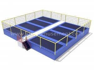 8 in 1 trampoline bed for children outdoor playground JP-BJ17