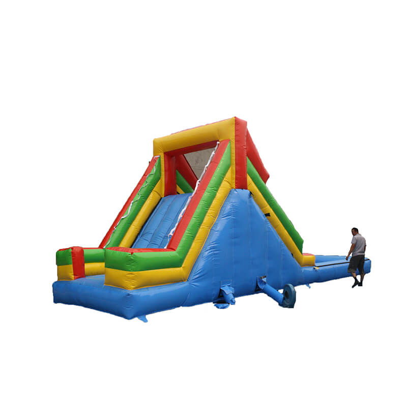 Factory made hot-sale Yacht Inflatable Water Slide - Inflatable Water Slide – Jump Amusment