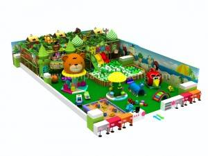 Jungle Theme Indoor Kids Play Indoor Playground Equipment JP-IP22