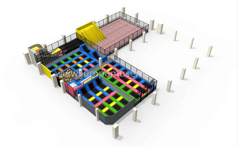Manufacturer for Trampoline Parks - JP-TP28 – Jump Amusment detail pictures