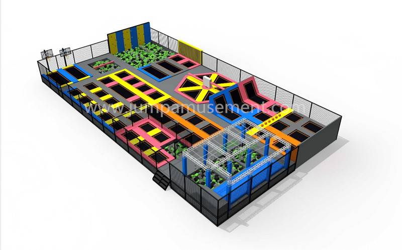 Factory Cheap Hot Trampoline Park With Dodge Ball - JP-TP25 – Jump Amusment