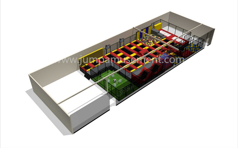 Good Wholesale Vendors Protection Trampoline - JP-TP24 – Jump Amusment