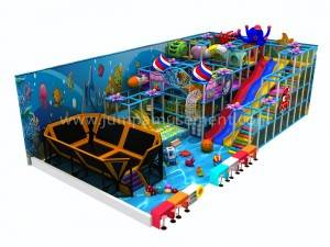 Commercial plastic amusement kids ocean indoor playground equipment for sale JP-IP31