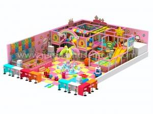 kid entertainment equipment indoor playground JP-IP32