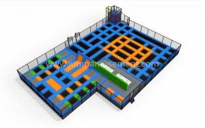 professional trampoline park with basketball games JP-TP19