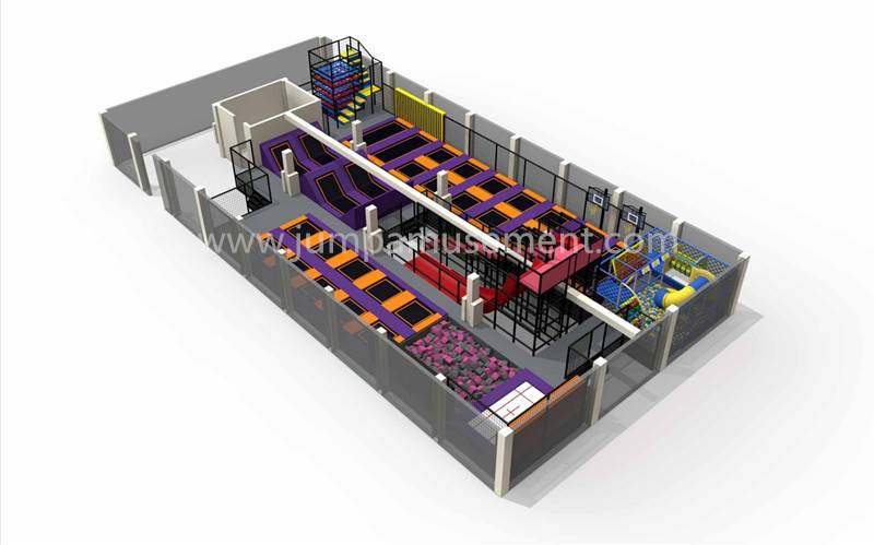 Wholesale Price China Indoor Play Trampoline Park - JP-TP17 – Jump Amusment