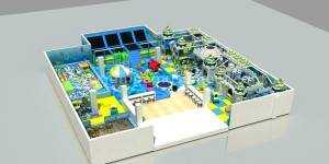 Children Soft Indoor Playground Equipment with soft plays JP-IP35