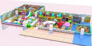 Customized different design indoor playground equipment JP-IP36