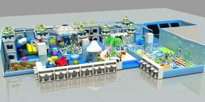 kids soft play equipment indoor playground for amusement park JP-IP39